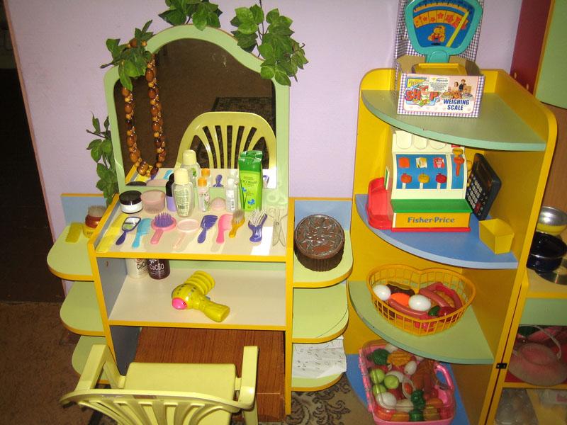 Парикмахерская для детского сада своими руками 28